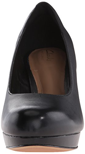 Pompe Clarks Jenness Platform Glory Black Leather