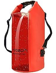Sac étanche, Yoozon Imperméables Nautiques Sac Etanche plongée/à l'eau Sac à dos Sac Sec Dry Bag pour le canotage, la randonnée, Camping, pêche, Nage, et autres activités en plein air