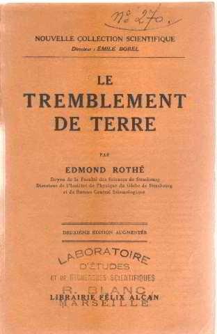 LE TREMBLEMENT DE TERRE par Gagnon, Loïc Jouannigot