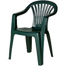 Amazon.fr : Chaise Jardin Plastique Vert