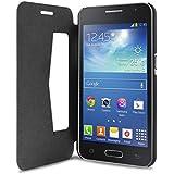 Puro SGGTREND2BOOKCBLK Etui portefeuille pour Samsung Galaxy Trend 2  Noir