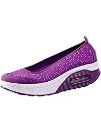 ALIKEEY Zapatillas Deportivas De Malla Al Aire Libre para Mujer Zapatillas Deportivas De Malla Gruesa con