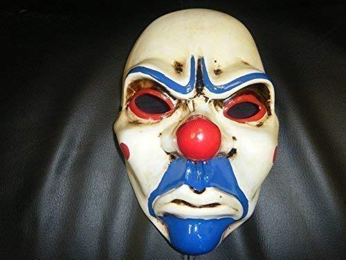 Zahltag Ufer Robber Joker The Heist 2 Maske Kostüm geschnürt Wrestling Erwachsene ()
