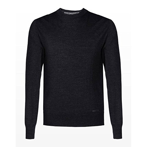 Trussardi Jeans - MAGLIA CON APPLICAZIONI - 52M22-215-AI16 - Grigio, 3XL