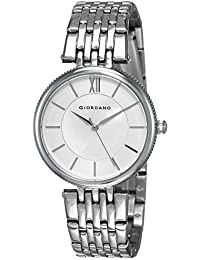Giordano Analog White Dial Women's Watch-A2082-11