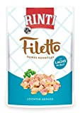 Rinti Filetto Huhnfilet mit Lachs in Jelly, 1er Pack (1 x 100 g)