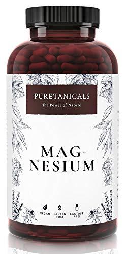 Capsulas de Magnesio - Alta Dosis - 400mg de Magnesium ELEMENTAL (puro), 664mg en Polvo,...