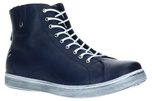 Andrea Conti Damen 0027913 Hohe Sneaker Blau (D.Blau 017) 39 EU
