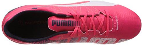 5 Evospeed 3 Calcio Fg Puma Rosso Uomo Rot Plasma Scarpe Da Bianco Peacoat 05 brillante qw1ExB5B