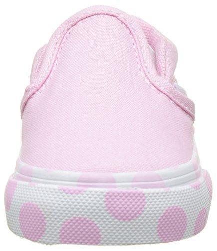 Vans Baby Mädchen Td Classic Slip-On Lauflernschuhe Pink (Polka Dot Pink Lady/true White)