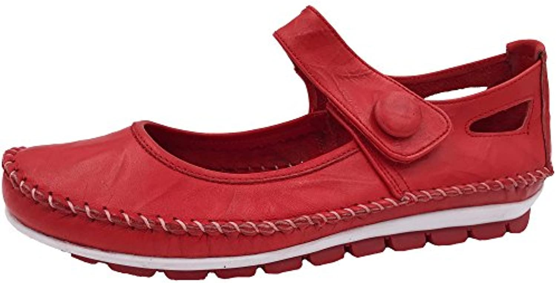 Gemini Damen Slipper Rot 3121-005 2018 Letztes Modell  Mode Schuhe Billig Online-Verkauf
