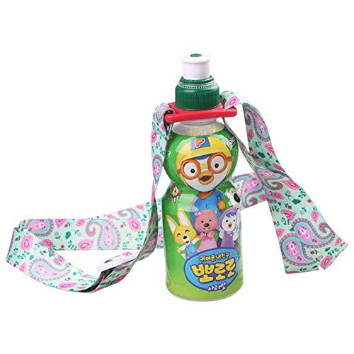 lymty Einstellbare Wasserflasche Sling Trinkflasche Sling Universal Wasserflasche Träger Flasche Strap Für Tägliches Gehen, Radfahren, Wandern -