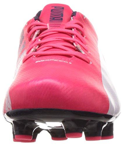 Plasma 3 05 Rot Evospeed Rosso Uomo Peacoat brillante Calcio Puma 5 Fg Scarpe Da Bianco PHEqCRE