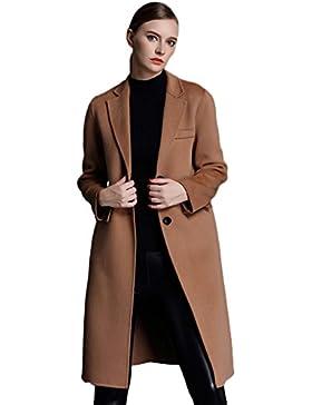 Insun – Abrigo – Manga Larga – para mujer