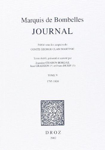 Journal 5 1795-1800