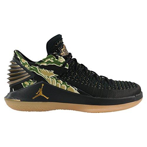 Nike Herren Air Jordan xxxii Schwarz Textil/Synthetik Basketballschuhe - Männer Schuhe Jordan