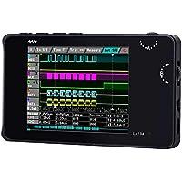 """Navigatee Analizador Lógico Digital - LA104 USB Mini 4 Canales Velocidad de muestreo máxima de 100Mhz Construido en 8MB Almacenamiento Flash Osciloscopio DE 2.8"""""""