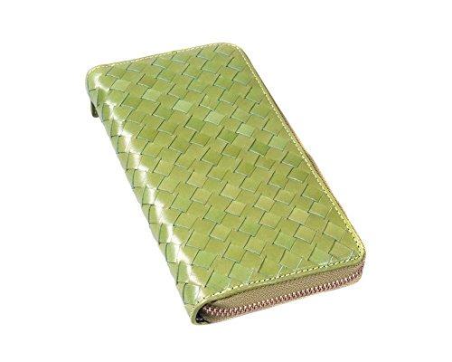sagebrown-woven-fisarmonica-portafoglio-lime-green-taglia-unica