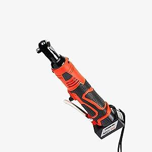 Llave de impacto eléctrica de 26V,eléctrica Llave de trinquete eléctrica inalámbrica,Batería de iones de litio Led Luz de trabajo Llave