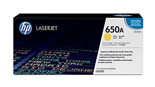 HP 650A Gelb Original LaserJet Tonerkartusche