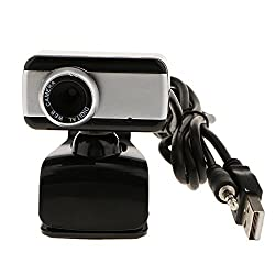 Magideal USB HD Webcam Camera 1080P With Microphone for Computer Desktop Laptop Black