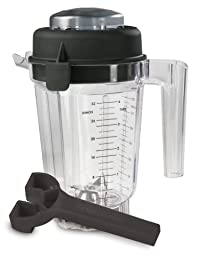 Vitamix Eastman Tritan Copolyester 32-Ounce Container with Lid and Wrench (No Blade)