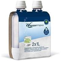 Wassermaxx WAS2 Pack de 2 Bouteilles Pet 2 x 1 L Plastique