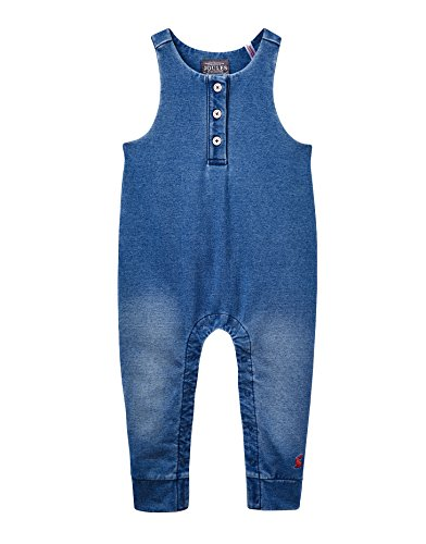 Tom Joule Joules Baby Jersey Latzhose - Denim - 12-18 Months - 86 cm