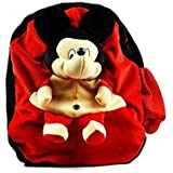[Sponsored]JBTLT ENTERPRISES Soft Toy Cute TEDDY Bear Design School Bag For For Kids, Travelling Bag, Carry Bag, Picnic Bag, Teddy Bag (RED)