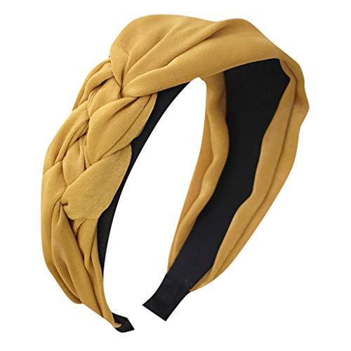 Younthone Damen süße Stirnband Alice Band Top Knot Fashion plain Stirnband Haarband speciales neues Design für Damen Braut Haarklammern Kopfband Haarspange