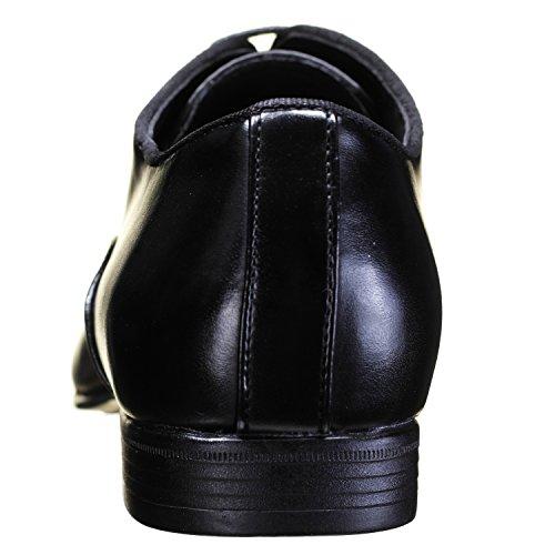 Galax - Chaussure Derbies Gh1512 Black Noir