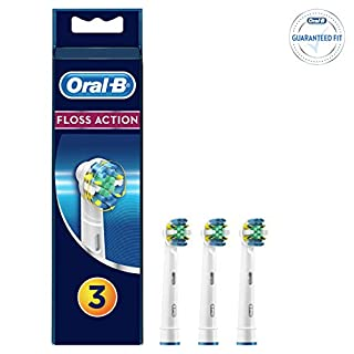 Oral-B Floss Action Brossettes De Rechange Pour Brosse À Dents Électrique x3 (B0043M4XV8) | Amazon price tracker / tracking, Amazon price history charts, Amazon price watches, Amazon price drop alerts