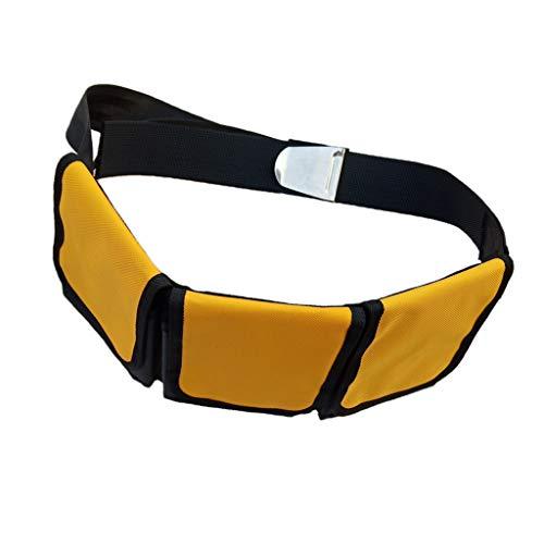 CUTICATE Tauchgewichte Gürtel Bleigürtel Tauchgürtel mit Taschen - 3 Tasche