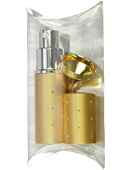 Fantasia 46053 Pocket Sprayer Gift Set for 10 ml, Gold, and Funnel, Gold