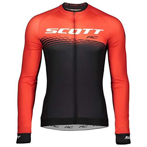 Scott RC Pro Fahrrad Trikot lang schwarz/rot 2019: Größe: XL (54/56) -