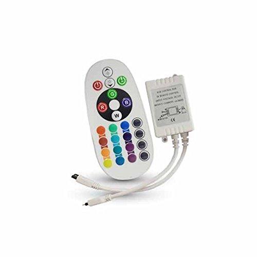 LED RGB Controller 3x2A mit Infrarot Fernbedienung 24 Tasten -
