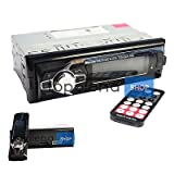 AUTORADIO STEREO BLUETOOTH FRONTALINO ESTRAIBILE FM MP3 USB SD LCD 60Wx4 EC-7008