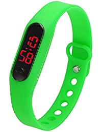 LED Watch Reloj Infantil Demiawaking Relojes Niños/Niñas Chico/Chica Reloj de Pulsera Reloj Digital Unisex Deportes Pulsera de del…