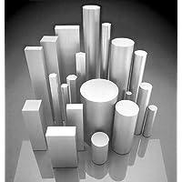 Material redondo de acero inoxidable, V2A, 1.4301, diámetro de 15 mm, longitud de 300 mm, barra redonda redonda