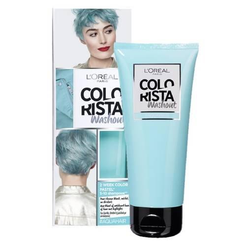 L 'Oréal Paris-Colorista, Couleur 1Woche-# Aqua Haar