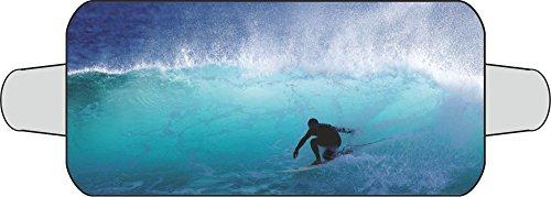 Thermo-Scheibenschutz (für die Frontscheibe) Motiv: Surfer ~~~~~ schneller Versand innerhalb 24 Stunden ~~~~~