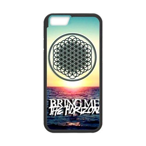 "iPhone 6(4,7""), Apple iPhone 6/iPhone 6S Housse Case Coque de protection Case-Bring Me The Horizon bmth TPU Étui Coque de Protection pour iPhone 66S (Blanc/Noir)"
