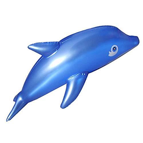 Vektenxi Premium Qualität Schöne 50 cm Aufblasbare Delphin Fisch Strand Pool Party Kinder Spielzeug Zufällige Farbe
