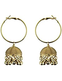 Waama Jewels Special Festival Oxidised Jewellery Collection Of Jhumki Fashion Designer Earrings For Women And...