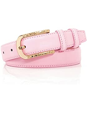 Wild Pin Hebilla Correa De La Señora/Cinturón Decorativo De Simple Moda-rosa 110cm(43inch)