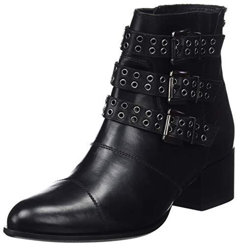 Pepe Jeans London Waterloo Berlin, Botines para Mujer, Negro Black 999, 38 EU