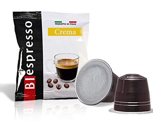 BIespresso, Capsule compatibili Nespresso, caffè Aroma Crema, 400 Pezzi, Produzione Italiana, spedizione Omaggio
