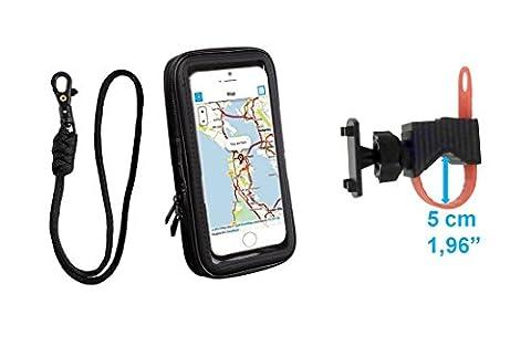 Color Dreams® Universal Fahrrad Handyhalterung mit wasserdichter Handy-Bildschirm decken bis zu 5,5