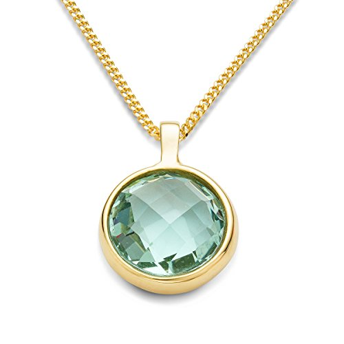 miore-ladies-9-ct-yellow-gold-round-cut-green-amethyst-bezel-pendant-with-chain-of-45-cm