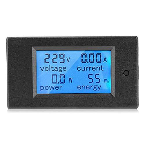 Digitales LCD Panel 100A AC 80 bis 260V Digitales Leistungsmeßgerät Monitorspannung KWh Watt Voltmeter Amperemeter Multimeter Tester Meter